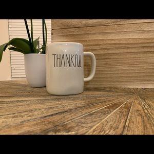 •Rae Dunn• THANKFUL mug